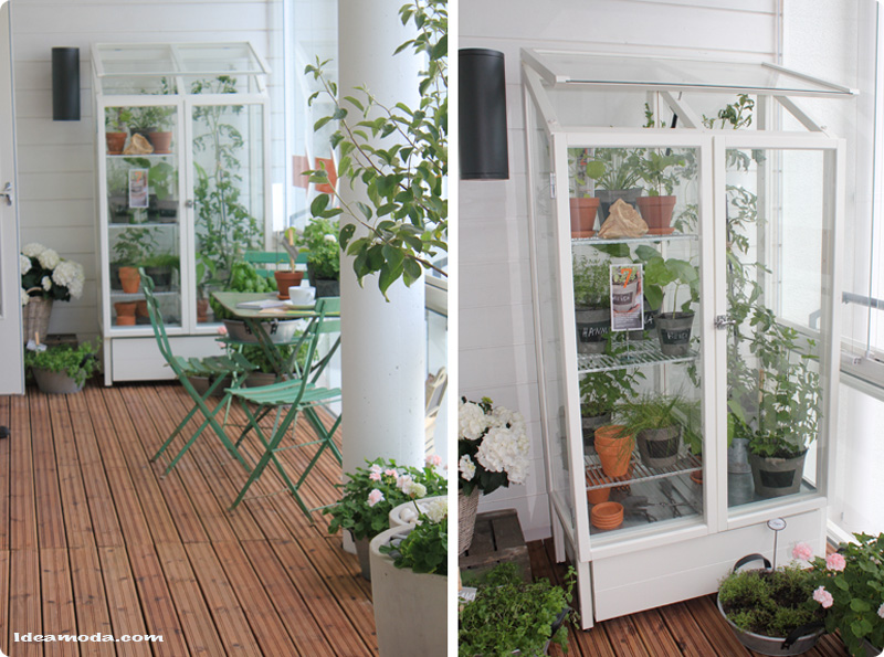 A beautiful balcony garden designed by Sikke Sumari « Ideamoda.com ...