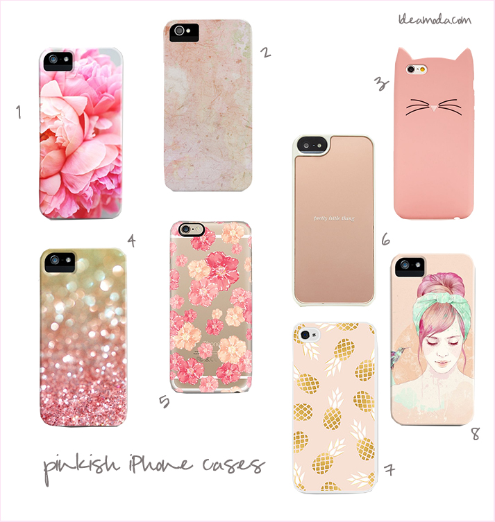 pinkish iphone cases