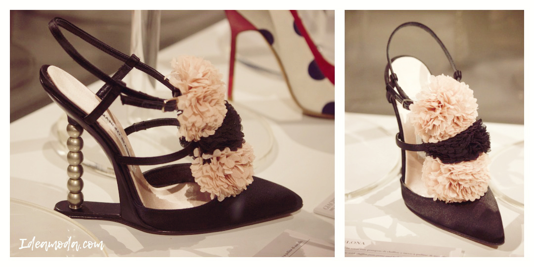 Manolo Blahnik has a strong relationship with Italy; still today he continues to produce all the shoes in the Milan area where he started.